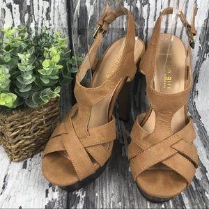 d457f57e0dd Madden Girl Camel Colored Platform Sandal - Size 7